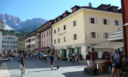 Leisurely strolls through the village of Innichen